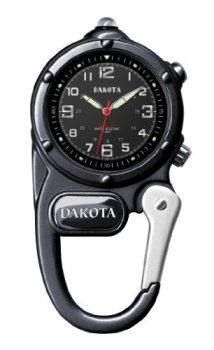 Dakota Gunmetal Mini Clip Microlight Watch