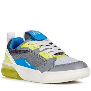 Geox Boy Lace-Up Flats J GRAYJAY BOY, Kids Casual lace-up,Trainer,Sneaker 41zyE82QGcL