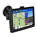 GPS Navigation for Car, 7 Inch 8GB HD Touch Screen Built-in 256MB GPS Navigation System Spoken Turn-by-Turn Directions for Car Vehicle GPS Navigator with Lifetime Map Update (US)