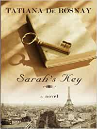 It is the cover of the book, Sarah's Key.