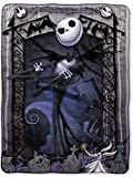 The Nightmare Before Christmas Blanket Throw ~ Jack Skellington & Zero by Disney