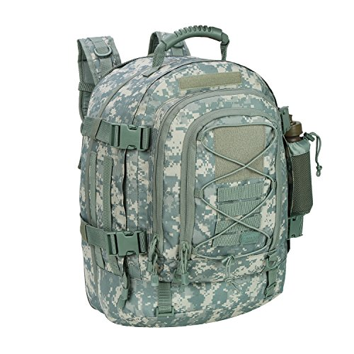 PANS Military Expandable Travel Backpack Tactical Waterproof Outdoor 3-Day...
