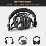 OneOdio-Adapter-Free-Closed-Back-Over-Ear-DJ-Stereo-Monitor-Headphones-Professional-Studio-Monitor-Mixing-Telescopic-Arms-with-Scale-Newest-50mm-Neodymium-Drivers-Black