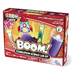 hand2mind Boom! Combustion Chemistry Science Kit For Kids (Ages 8+) - Build 25+ Stem Career Experiments & Activities | Make Rockets, Explosions, & More | Educational Toys | STEM Authenticated