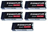 Staedtler Large Exam Dust Free Pencil Eraser (526 E20) Pack of 5 Erasers
