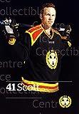 (CI) Greg Scott Hockey Card 2015-16 Swedish Brynas IF Tigers Postcards 18 Greg Scott