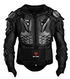 GuTe Motorcycle Protective Jacket,Sport Motocross MTB Racing Full Body Armor Protector for Men (XL)