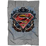 "ARLSTORE I Am Superman Blanket for Bed and Couch, Son of JOR El Blankets - Perfect for Layering Any Bed (Medium Blanket (60""x50""))"