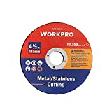 WORKPRO 10-pack Cut-Off Wheels, 4-1/2 x 7/8-inch