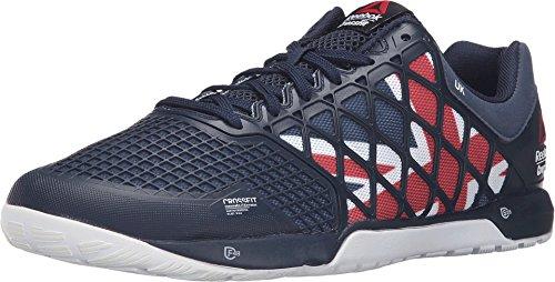Reebok Men's Crossfit Nano 4.0 Collegiate Navy/Excellent Red Athletic Shoe