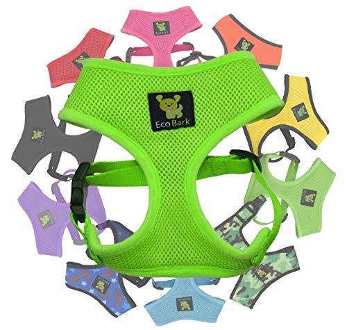 EcoBark Pet Supplies Dog Harness 4-6 lbs; Innovative No Pull & No Choke Design,...