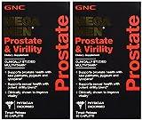 GNC Mega Men Prostate & Virility Dietary Supplement: 2 Pack of 90 Caplets - sms18