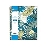 Blue Sky 2019 Weekly & Monthly Planner, Flexible Cover, Twin-Wire Binding, 8.5' x 11', Grenada
