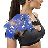 TheraPearl Color Changing Shoulder Wrap, Reusable Hot Cold Therapy Wrap with Gel Beads for Shoulder Pain Relief, Flexible Hot and Cold Compress, Best Ice Pack for Rotator Cuff Pain, Sports Injuries