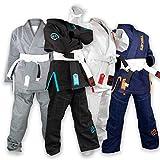 Sanabul Future Legend Kids Brazilian Jiu Jitsu BJJ Gi (Black/Blue, K1)