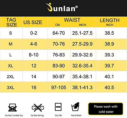 Junlan Sauna Suit for Women Sweat Sauna Pants Weight Loss Jacket Gym Workout Vest Sweat Suits for Women 6