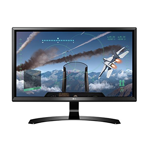 LG 24UD58-B 24-Inch 4K UHD IPS Monitor with FreeSync
