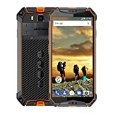 Rugged Cell Phones Unlocked Ulefone Armor 3,Unlocked Cell Phones Rugged Waterproof 5.7'' 4GB 64GB, Android 8 1 Dual Sim Unlocked 4G AT&T, T Mobile, Verizon& Sprint, Shockproof, GPS+GLONASS+NFC,Orang