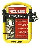 The Club UTL810 Utility Lock, Yellow