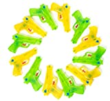 Fun 12 Piece Neon Plastic Squirt Super Soaker Water Gun Assortment 6.5' Water Squirter 1 DZ Water Pistol for Pool Parties, Barbecue Activities for Kids, Adults, and Pets