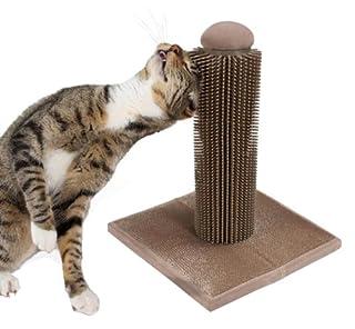 SmartyKat Brush Up Cat Grooming Post