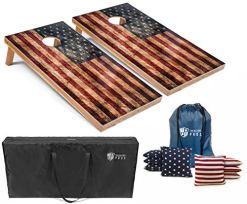 American Flag Cornhole Boards w/Bean Bags