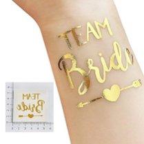 ZesNice-Lot-de-25-Evjf-Tatouages-Temporaire-pour-La-Fte-De-Clibataire-comprend-1-Bride-Tatouage-et-12-Team-Bride-Tatouage-et-12-Cheers-Tatouage