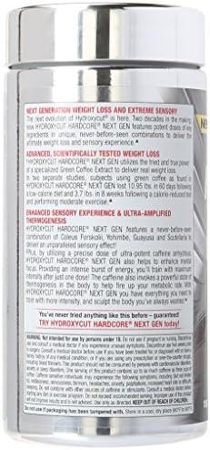 Weight Loss Pills for Women & Men | Hydroxycut Hardcore Next Gen | Weight Loss Supplement Pills | Energy Pills | Metabolism Booster for Weight Loss | Weightloss & Energy Supplements | 180 Pills 3