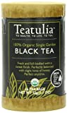 Teatulia Organic Black Tea, 16 Count Pyramid Tea Bag