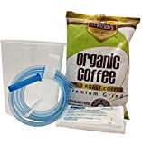 S.A. Wilson's Organic Enema Starter Kit Coffee Gold Roast Enema - Colonic Cleanse - Colon Hydrotherapy - Full body cleanse - Kit de Cafe organico para enemas - 100% USDA Certified Organic (1 lb)