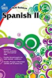 Carson Dellosa - Skill Builders Spanish II Workbook, for Grades 6-8, 80 Pages With Answer Key
