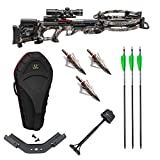 Tenpoint Stealth NXT ACUdraw PRO 410 FPS Crossbow with Stag Hard Case, Scope, 3 Arrows and NAP Broadheads Hunter's Bundle