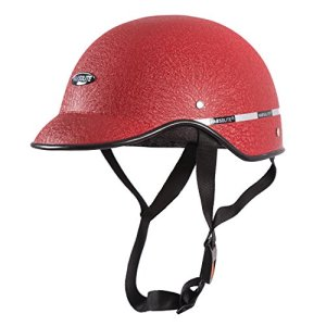 Habsolite All Purpose Safety Helmet with Strap for Bikes (Red, Free Size) 20  Habsolite All Purpose Safety Helmet with Strap for Bikes (Red, Free Size) 51 2BeVtSex9L