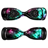 MightySkins Protective Vinyl Skin Decal for Swagtron T5 Hover Board Self Balancing Smart Scooter Wrap Cover Sticker Skins Glow Stars, 0.174999999999999 pounds