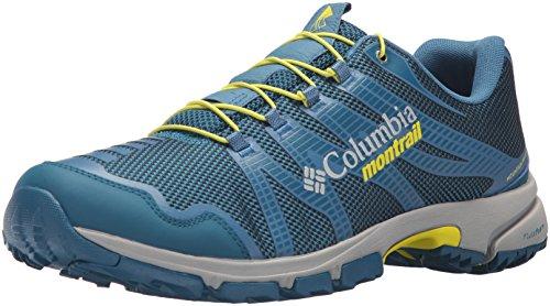 Columbia Men's Mountain Masochist IV Trail Running Shoe, Phoenix Blue, Zour, 11 D US