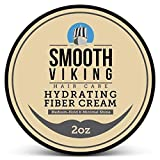 Smooth Viking, Hair Styling Fiber for Men, Pliable Molding Wax with Medium Hold & Minimal Shine, Thickens, Texturizes & Increases Fullness in Thinning Hair, 2 ounces