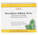GiGi Brazilian Bikini Home Waxing Kit, Complete Hair Removal System