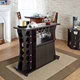 Product review for Tiko Modern Espresso Buffet with Wine Rack by Furniture of America