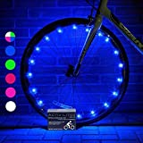 Activ Life Bike Wheel Lights (1 Tire, Blue) Best Gifts for Men & Cool, Stocking Stuffers & Birthday Boys 4 5 6 7 8 9 10 Year Old. Top Unique 2019 Ideas for Him, Dad, Brother, Uncle
