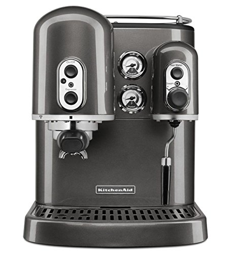 KitchenAid Pro Line Series Espresso Maker with Dual Independent Boilers,  Medallion Silver (Certified Refurbished) - All for your Kitchen