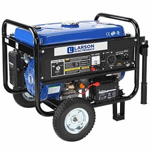4.4 kW Portable Gas Powered Generator – Electric Start – Wheel and Handle Kit