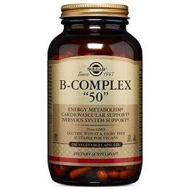 """Solgar – B-Complex """"50"""" Vegetable Capsules"""
