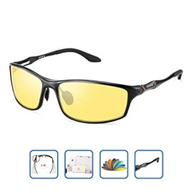 bd932b0e6e27 HD Men s Night Vision Glasses For Driving Polarized Anti-glare Night Sight Driving  Glasses (