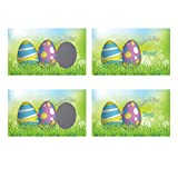 Easter Egg Scratch-Off Giveaway Cards, Family/Party Casino Games, Pack of 25