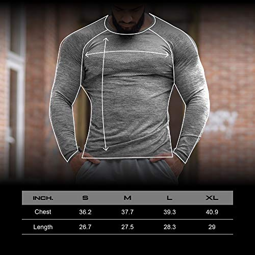 Kamo Fitness Long Sleeve Top - Baselayer That Will Keep You Warm & Active.Performance Fit & Quick-Drying Fabric. 5 Fashion Online Shop gifts for her gifts for him womens full figure