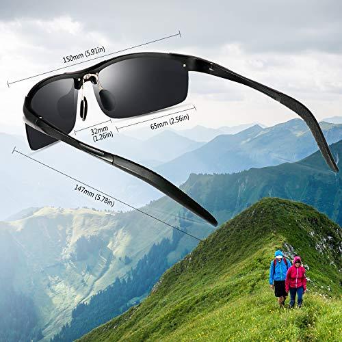 7f9fb79cb51a Sports Polarized Sunglasses for Men - Feirdio Mens Sports Glasses ...