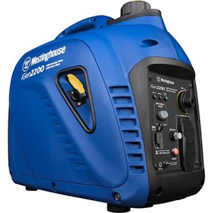 Westinghouse iGen1200 Portable Inverter Generator – 1000 Rated Watts & 1200 Peak Watts – Gas Powered
