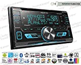 Volunteer Audio Kenwood DPX593BT Car Stereo Double Din Radio with Bluetooth, Sirius XM Ready, CD Player