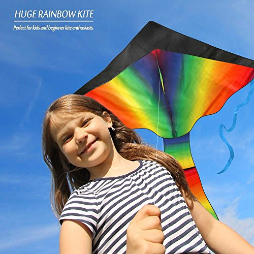 Top 100 Best Selling Toys : Huge rainbow kite for kids one of the best selling toys