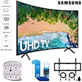 Samsung 55NU7300 55' NU7300 Smart 4K UHD TV (2018) with Wall Mount+Cleaning Kit (UN55NU7300)